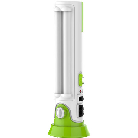 Садовый светодиодный светильник Novotech Trip 357435, IP52, LED 8W 6000K 570lm, белый, зеленый, пластик