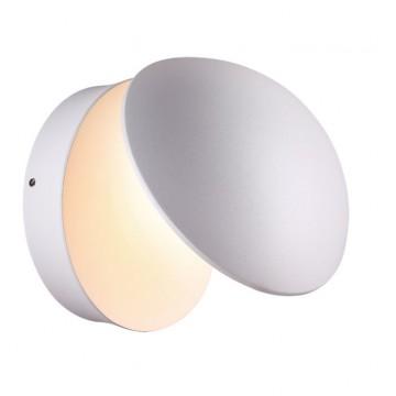 Настенный светодиодный светильник с регулировкой направления света Novotech Kaimas 357433, IP54, LED 12W 3000K (теплый), белый, металл, стекло