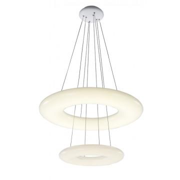 Подвесной светодиодный светильник с пультом ДУ ST Luce Albo SL902.503.02D, LED 104W 3000-6000K, белый, металл, пластик