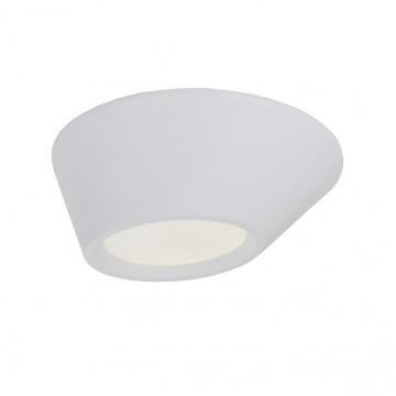 Потолочный светодиодный светильник с пультом ДУ ST Luce Odierno SL956.052.01D, LED 12W 3000-6000K, белый, пластик