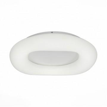 Потолочный светодиодный светильник с пультом ДУ ST Luce Levita SL960.532.01D, LED 16W, 3000-6000K, белый, металл, пластик