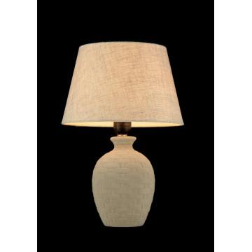 Настольная лампа Maytoni Adeline Z003-TL-01-W (mod003-11-w), 1xE27x60W, бежевый, керамика, текстиль - миниатюра 3