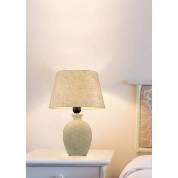 Настольная лампа Maytoni Adeline Z003-TL-01-W (mod003-11-w), 1xE27x60W, бежевый, керамика, текстиль - миниатюра 4