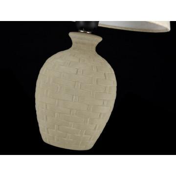 Настольная лампа Maytoni Adeline Z003-TL-01-W (mod003-11-w), 1xE27x60W, бежевый, керамика, текстиль - миниатюра 5