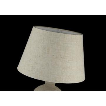 Настольная лампа Maytoni Adeline Z003-TL-01-W (mod003-11-w), 1xE27x60W, бежевый, керамика, текстиль - миниатюра 6