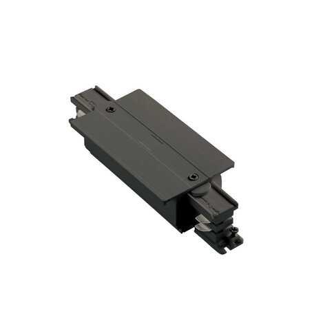Прямой соединитель питания для треков Ideal Lux LINK TRIM MAIN CONNECTOR MIDDLE BK ON-OFF 227672 (LINK TRIM MAIN CONNECTOR MIDDLE BLACK), черный, пластик