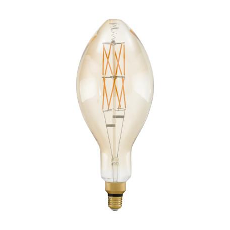 Филаментная светодиодная лампа Eglo 11685 свеча E27 8W, 2100K (теплый) CRI>80, диммируемая, гарантия 5 лет