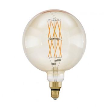 Филаментная светодиодная лампа Eglo 11687, пошаговое диммирование