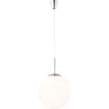 Подвесной светильник Globo Balla 1583, 1xE27x60W, металл, стекло