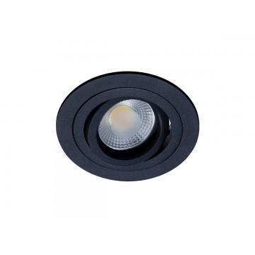 Встраиваемый светильник Donolux A1521-BLACK, 1xGU5.3x50W