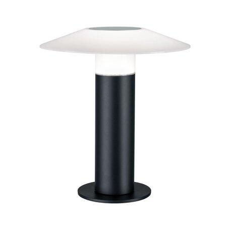 Садовый светодиодный светильник Paulmann Mobile Portino 94206, IP44, LED 3,5W, черный, белый, пластик