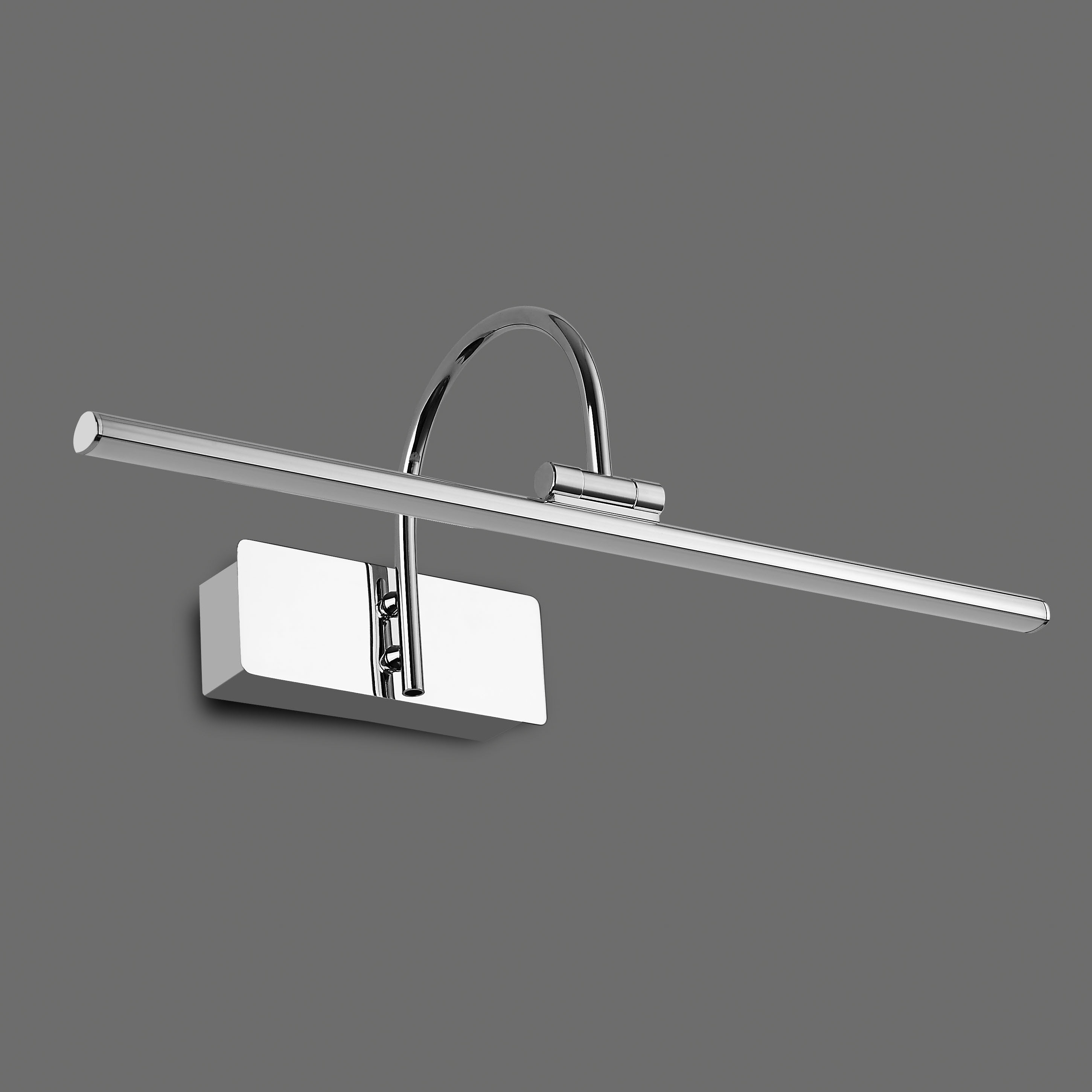 Настенный светильник для подсветки картин Mantra Paracuru 6381, хром, металл, пластик - фото 2