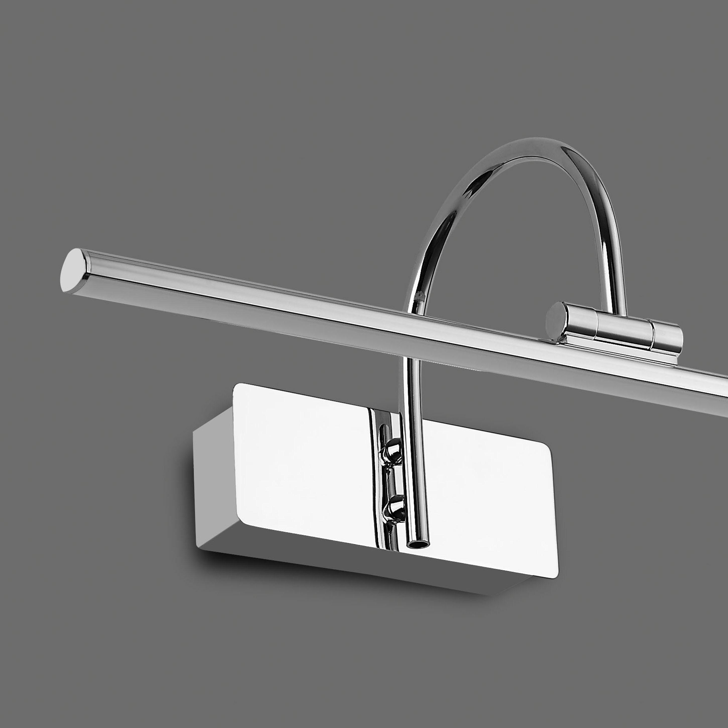 Настенный светильник для подсветки картин Mantra Paracuru 6381, хром, металл, пластик - фото 3