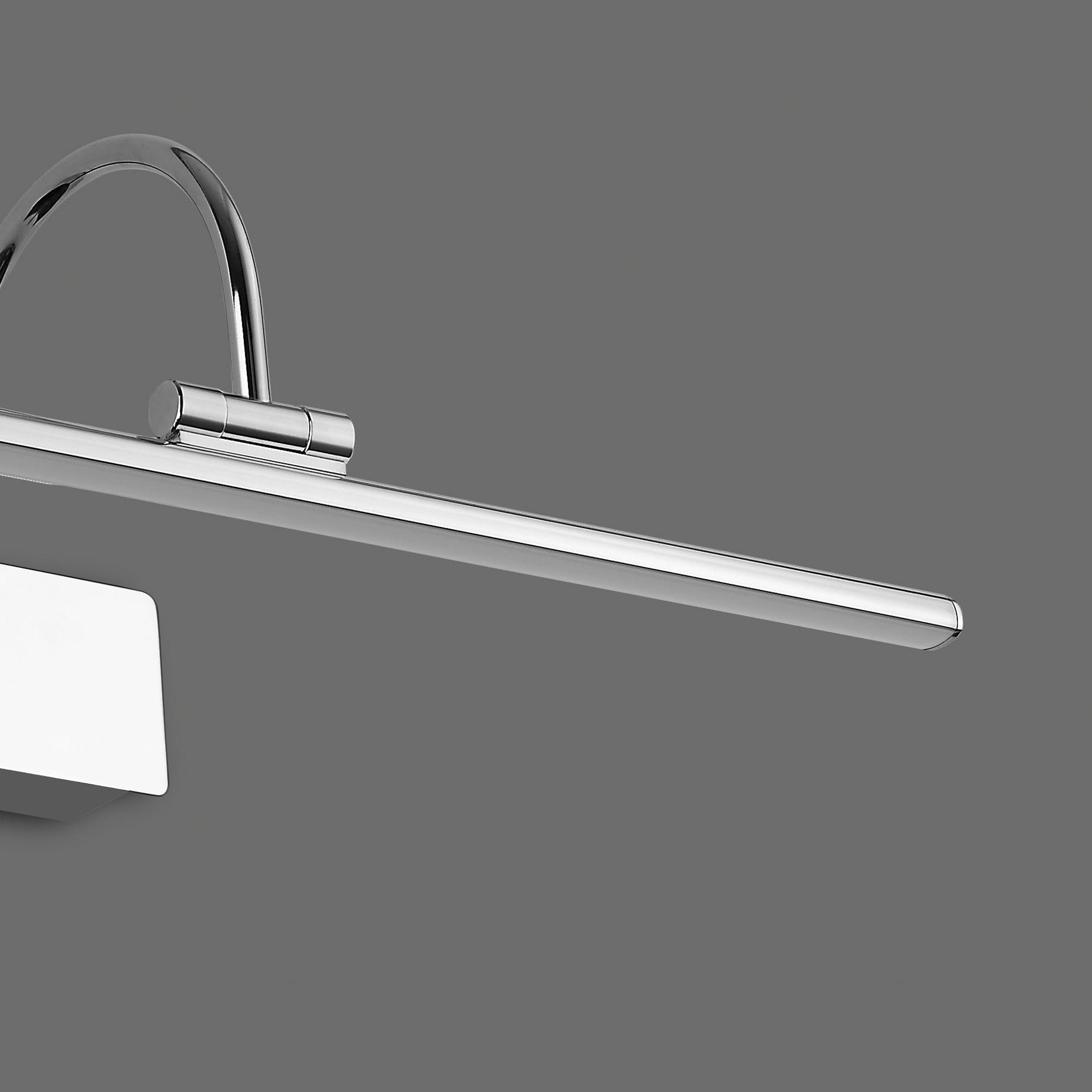 Настенный светильник для подсветки картин Mantra Paracuru 6381, хром, металл, пластик - фото 4
