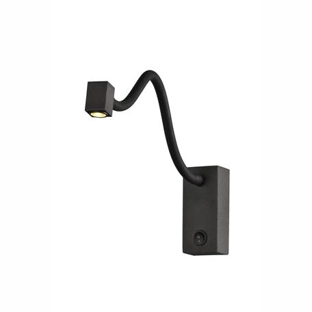 Настенный светильник Mantra Boavista 6049, черный, металл