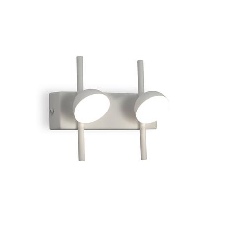 Настенный светильник Mantra ADN 6265, белый, металл, пластик