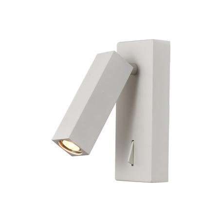 Настенный светильник с регулировкой направления света Mantra Tarifa 6070, белый, металл