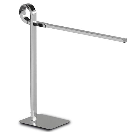 Настольная лампа Mantra Cinto 6135, хром, белый, металл, пластик