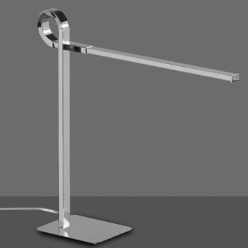 Настольная лампа Mantra Cinto 6135, хром, белый, металл, пластик - миниатюра 2