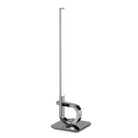 Настольная лампа Mantra Cinto 6136, хром, белый, металл, пластик