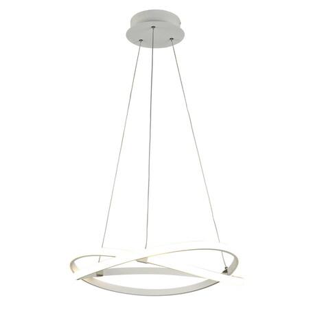 Подвесной светильник Mantra Infinity 5990K, белый, металл, пластик