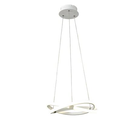 Подвесной светильник Mantra Infinity 5993K, белый, металл, пластик