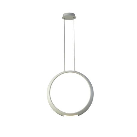 Подвесной светильник Mantra Ring 6170, белый, металл, пластик