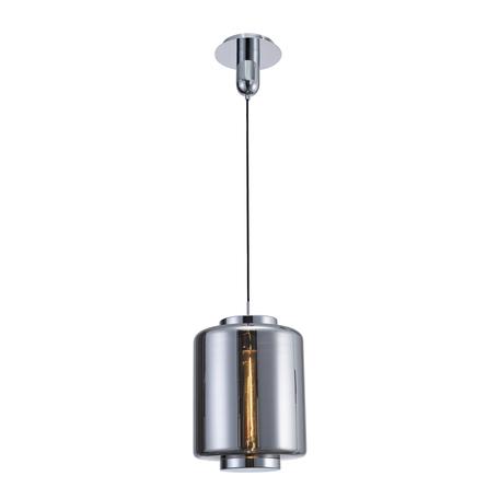 Подвесной светильник Mantra Jarras 6194, хром, дымчатый, металл, стекло