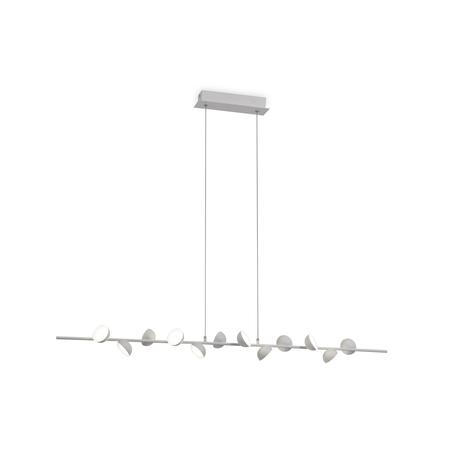 Подвесной светильник Mantra ADN 6262, белый, металл, пластик