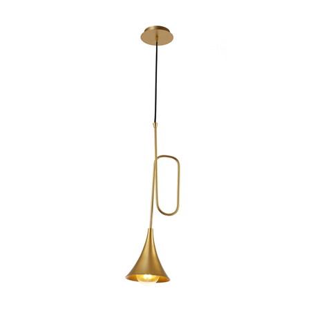 Подвесной светильник Mantra Jazz 6354, золото, металл