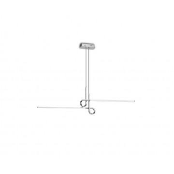 Подвесной светильник Mantra Cinto 6120, хром, белый, металл, пластик