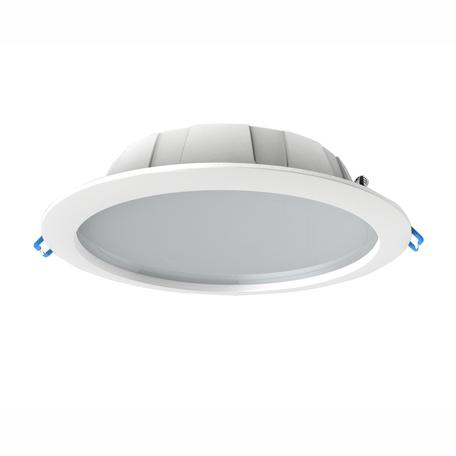 Светодиодная панель Mantra Graciosa 6392, IP44, белый, матовый, металл, пластик