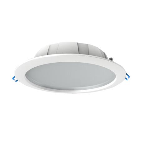 Встраиваемая светодиодная панель Mantra Graciosa 6393, IP44, белый, матовый, металл, пластик