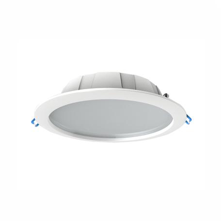 Встраиваемая светодиодная панель Mantra Graciosa 6394, IP44, белый, матовый, металл, пластик