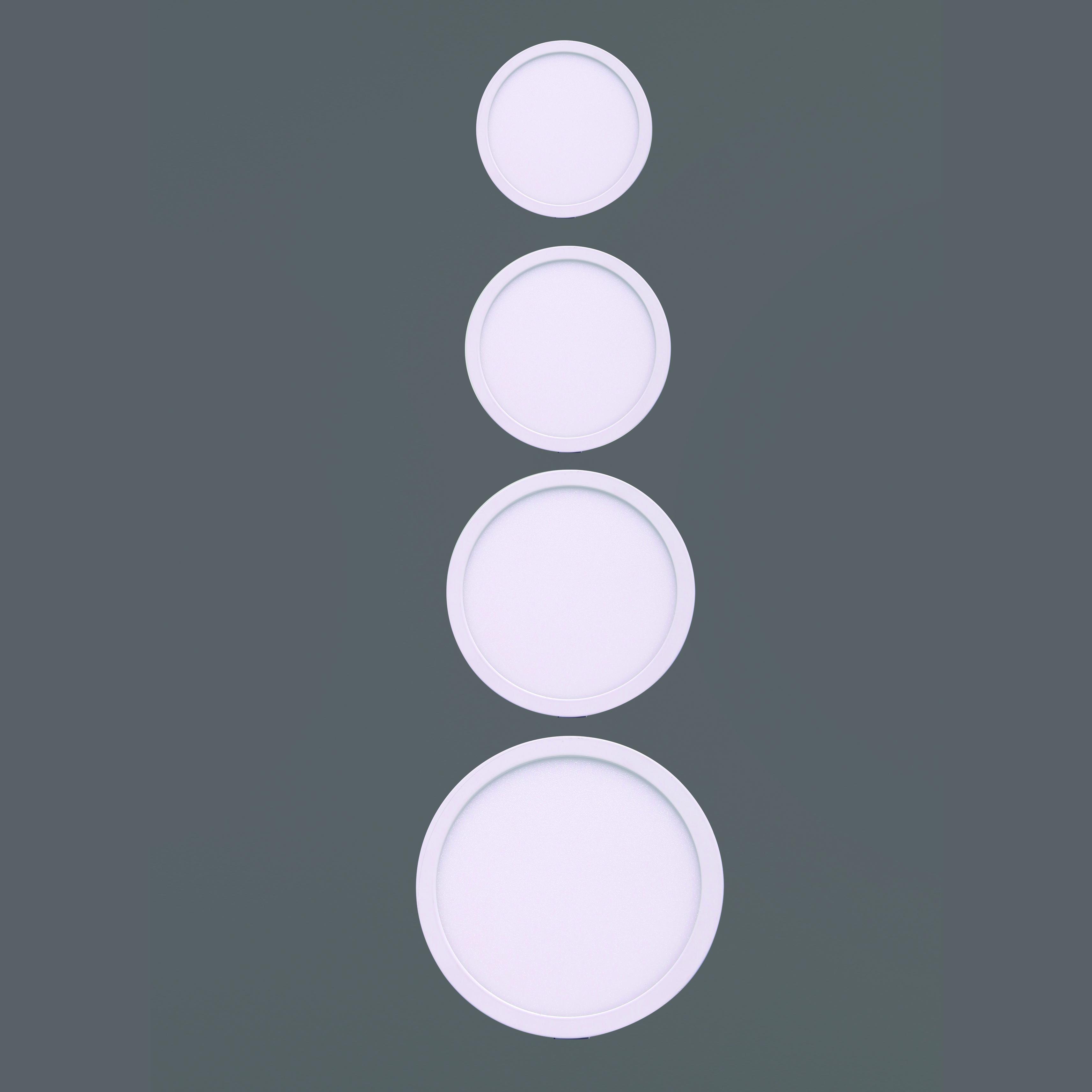 Встраиваемая светодиодная панель Mantra Saona C0187, белый, металл, пластик - фото 4