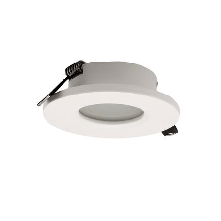 Встраиваемый светильник Mantra Atlantis 6405, IP54, белый, металл, стекло