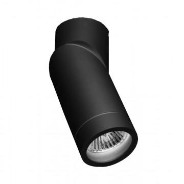 Потолочный светильник с регулировкой направления света Crystal Lux CLT 030C BL 1401/101, 1xGU10x35W, черный, металл