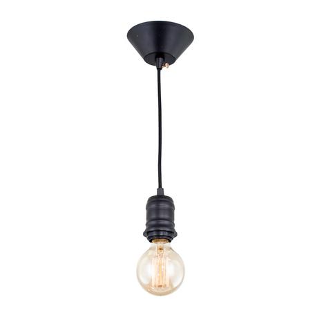 Подвесной светильник Citilux Эдисон CL450200, 1xE27x60W, черный, металл