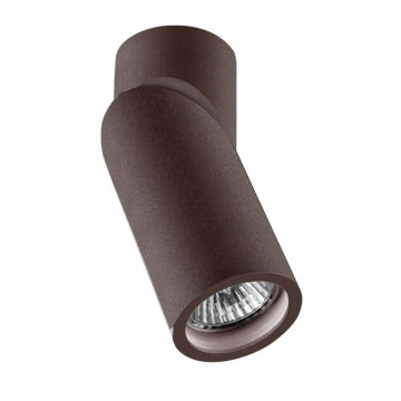 Потолочный светильник с регулировкой направления света Crystal Lux CLT 030C BR_V2 1400/101, 1xGU10x35W, коричневый, металл