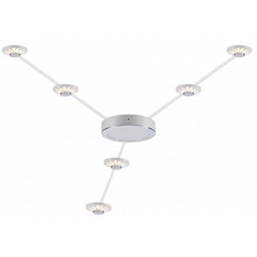 Гибкая система освещения Paulmann Star Frill LED 93648, LED 2,7W, белый, металл, пластик - миниатюра 2