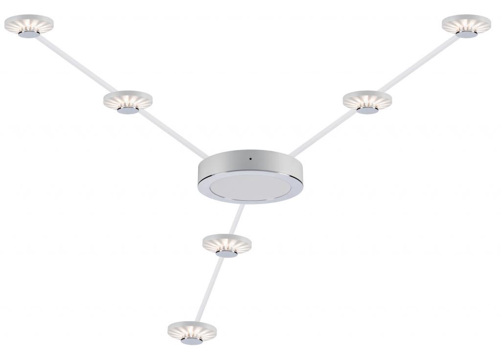 Гибкая система освещения Paulmann Star Frill LED 93648, LED 2,7W, белый, металл, пластик - фото 2