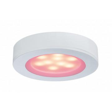 Мебельный светодиодный светильник Paulmann Micro Line LED Platy 93568, LED 3W, белый, пластик