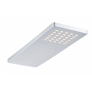 Мебельный светодиодный светильник Paulmann Micro Line LED Pattern 93563, LED 2,2W, матовый хром, пластик