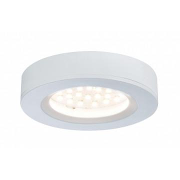 Мебельный светодиодный светильник Paulmann Micro Line LED Platy 93573, LED 2,5W, белый, пластик
