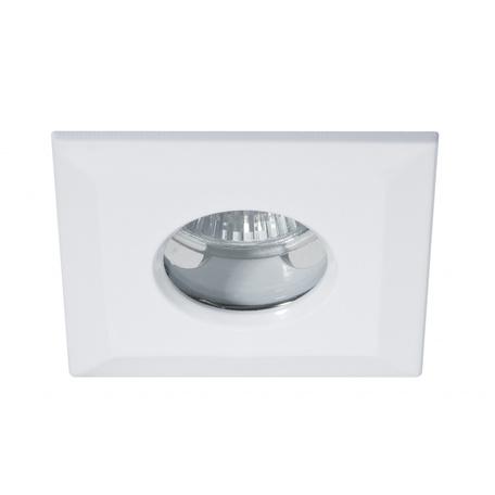 Встраиваемый светильник Paulmann Premium IP65 Quadro 93728, IP65, 1xGU5.3x35W, белый, металл