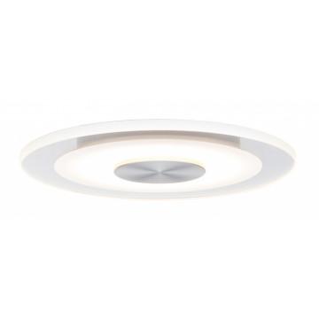 Встраиваемая светодиодная панель Paulmann Premium Whirl 120mm dimmable 92907, IP23, LED 5,5W, алюминий, металл с пластиком