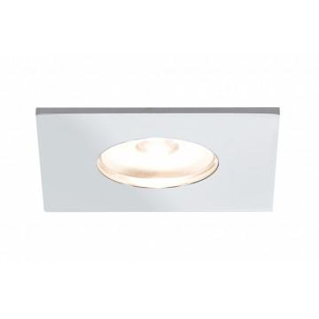 Встраиваемый мебельный светодиодный светильник Paulmann Micro Line Mini LED 93550, LED 1W, хром, металл