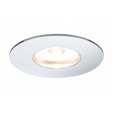 Встраиваемый мебельный светодиодный светильник Paulmann Micro Line Mini LED 93551, LED 1W, хром, металл