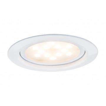 Встраиваемый мебельный светодиодный светильник Paulmann Micro Line LED 93554, LED 4,5W, белый, металл