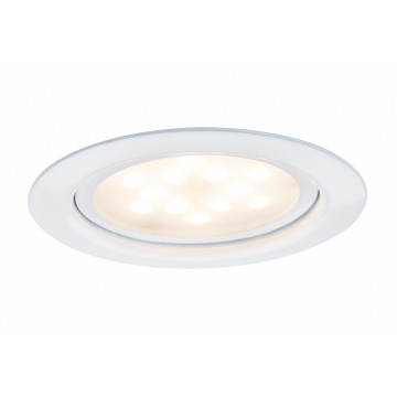 Встраиваемый мебельный светодиодный светильник Paulmann Micro Line LED 93555, LED 4,5W, белый, металл